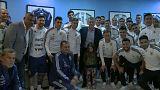 رئيس الأرجنتين يودع منتخب بلاده قبيل السفر لمونديال روسيا ويوجه رسالة إلى ميسى