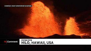 Le volcan Kilauea toujours en ébullition
