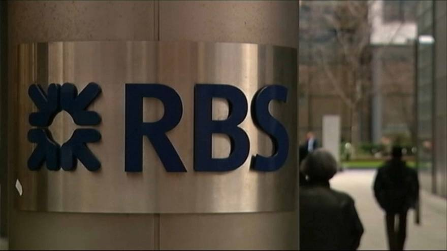 Royal Bank of Scotland : addition salée pour Londres