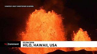 Mar de lava deixa Havaí em sobressalto