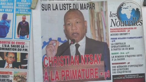 Christian Ntsay, Premier ministre pour sortir Madagascar de la crise