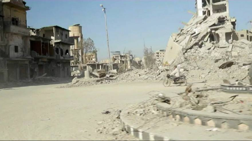 Raqqa: Coalition forces violated international humanitarian law