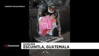 O salvamento milagroso de um bebé na Guatemala