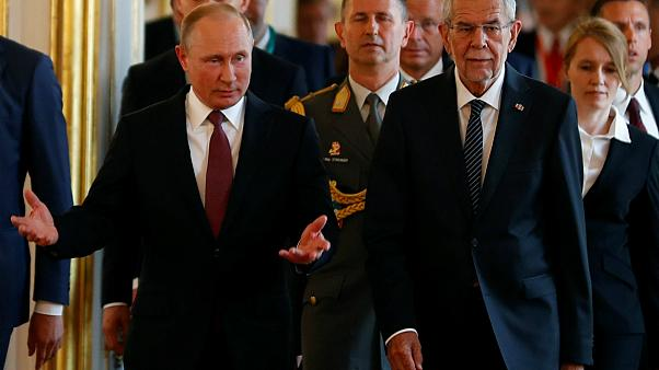 Bécsben az orosz elnök