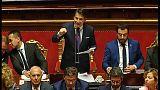 Itália: Governo de Giuseppe Conte apresentado no senado