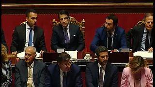 Róma: a szenátus előtt az új kormányprogram
