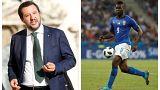 Balotelli-Salvini, a gamba tesa