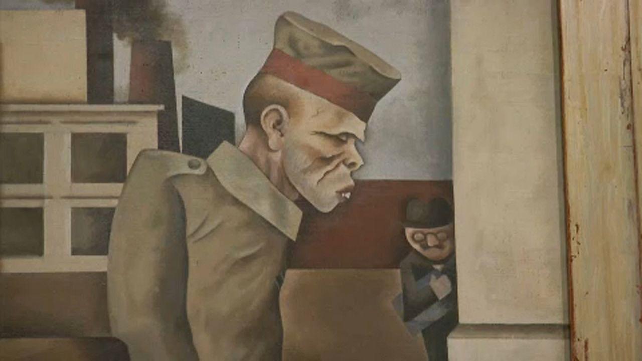 Τέχνη με έμπνευση από τα χαρακώματα του μεγάλου πολέμου στην Tate Britain