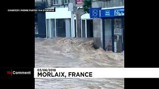 La Bretagne sous l'eau