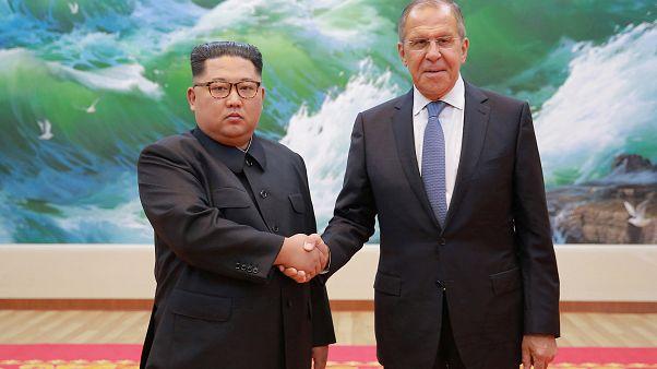 كيم مع لافروف