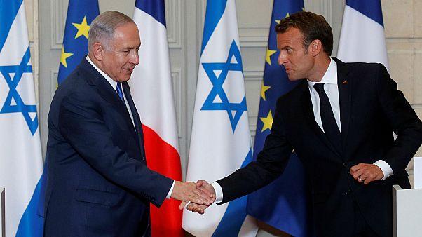 """Nucléaire iranien : Macron met en garde toutes les parties contre un risque de """"conflit"""""""