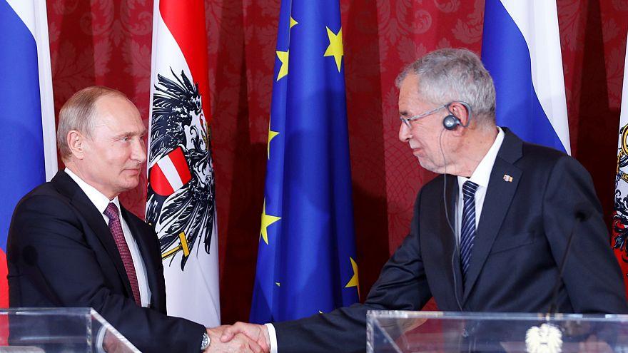 Putin in Wien: Hoffnung auf Neuanfang
