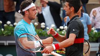 Roland-Garros : l'inattendu Cecchinato se hisse en demi-finale