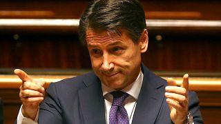 Luz verde del Senado italiano a la investidura de Conte