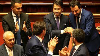 Italien: Senat stimmt für Conte und Anti-Einwanderungskurs