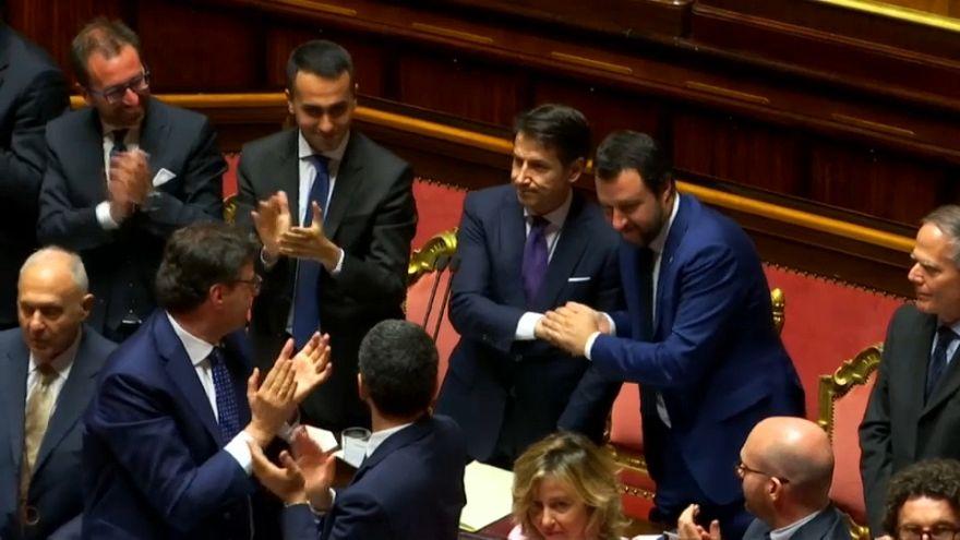 Conte ottiene la fiducia al senato