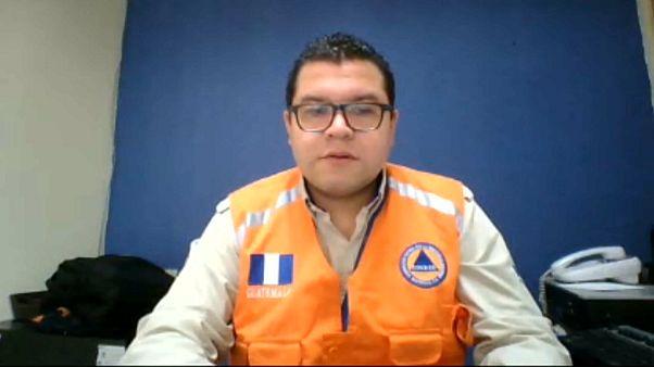 El Volcán de Fuego mantiene en alerta a Guatemala