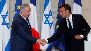 Netanyahu e Macron, um encontro com vista para o Irão