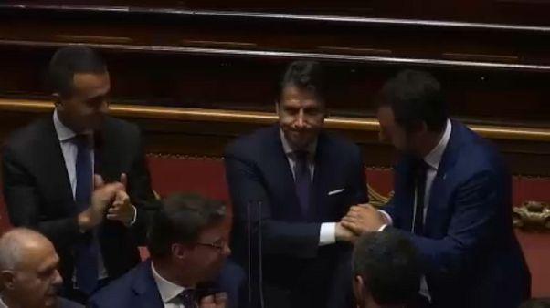 Novo executivo italiano