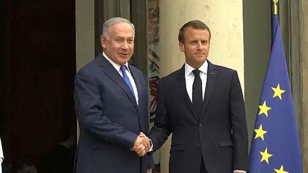 Berlin után Párizsban kampányolt Irán ellen Netanjahu