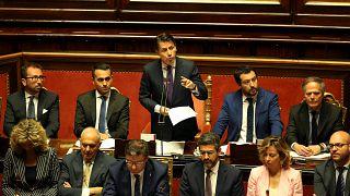 Сенат одобрил кабинет Джузеппе Конте