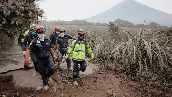 Ölüm saçan Fuego Yanardağı için yeni uyarı