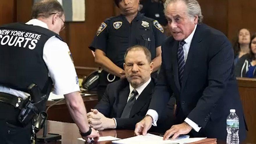 Weinstein a bíróság előtt tagadta bűnösségét