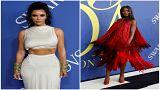 كيم كارداشيان وناومي كامبل تنالا جائزتين من مجلس مصممي الأزياء