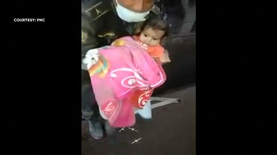 Guatemala: Baby girl found alive