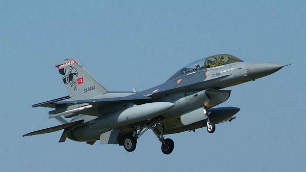 TSK'dan Kuzey Irak'a hava harekatı: 16 hedef vuruldu