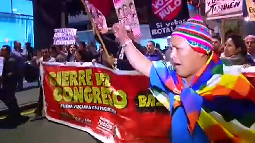 Акции протеста в Лиме
