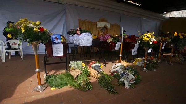Guatemala llora a las víctimas del volcán de Fuego