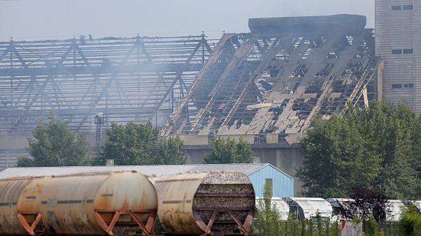 انفجار در یک سیلو در استراسبورگ چهار زخمی برجای گذاشت