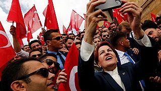 مرال آکسنر، رهبر حزب «خوب»، نامزد انتخابات ریاست جمهوری ترکیه
