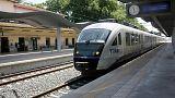 Το πρώτο ηλεκτρικό τρένο έφτασε στο Λιανοκλάδι