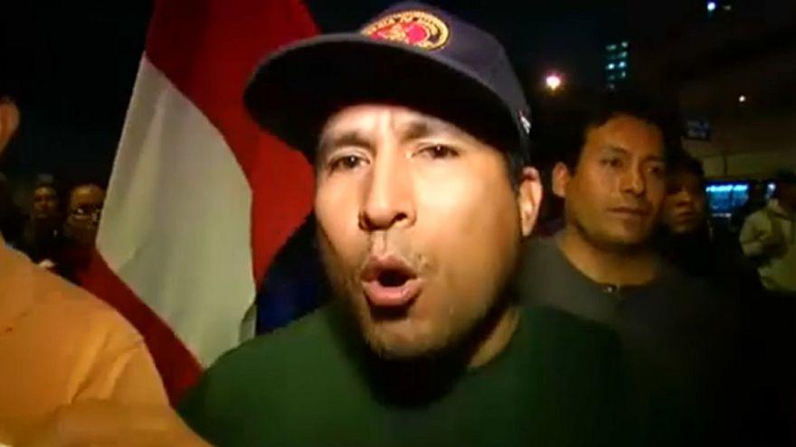 Peruvian protestors want more