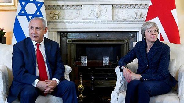 النووي الإيراني على جدول محادثات ماي ونتانياهو