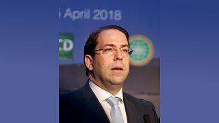 رئيس الوزراء التونسي يوسف الشاهد في تونس، تصوير: زبير السويسي - رويترز.