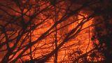 Hawaii's 'fissure 8' spewing lava