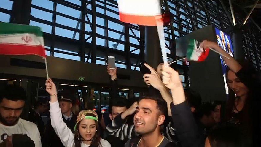 Iran trifft als erster WM-Teilnehmer in Russland ein