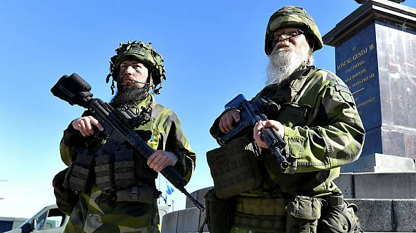 Sweden mobilises its entire volunteer army for first time since 1975