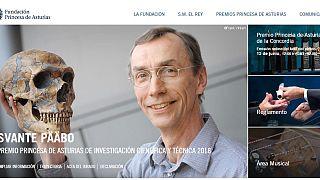 Svante Päävo, el hombre que demostró que llevamos dentro un neandertal, Premio Princesa de Asturias de Investigación