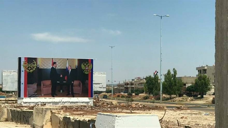 اعادة افتتاح طريق حمص حماة