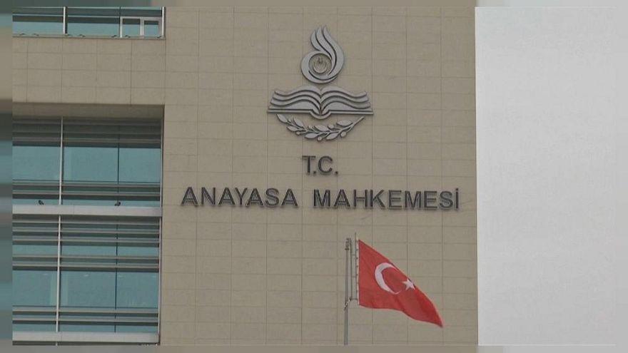 Anayasa Mahkemesi Binası'nın önden görünüşü