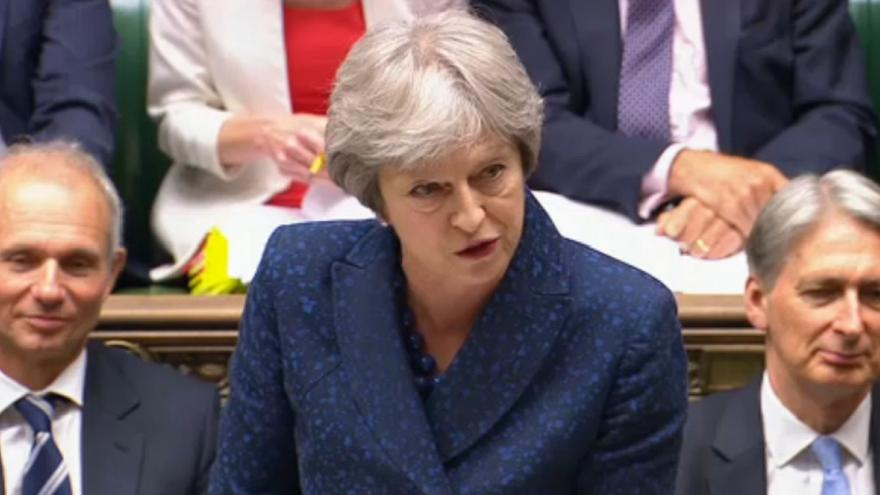 """May accused of being """"shambolic"""" and """"incompetent"""" over Brexit White Paper"""