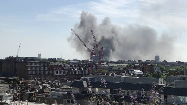 No reported injuries at five-star hotel fire in London