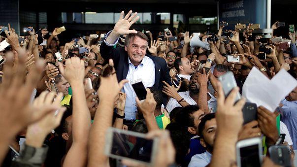 Jair Bolsonaro lidera as sondagens para as presidenciais no Brasil