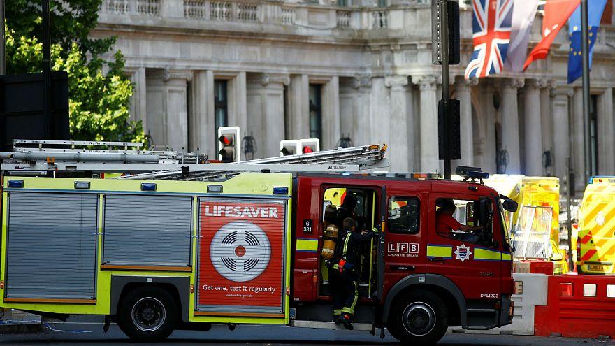 Londres : spectaculaire incendie dans un hôtel de luxe