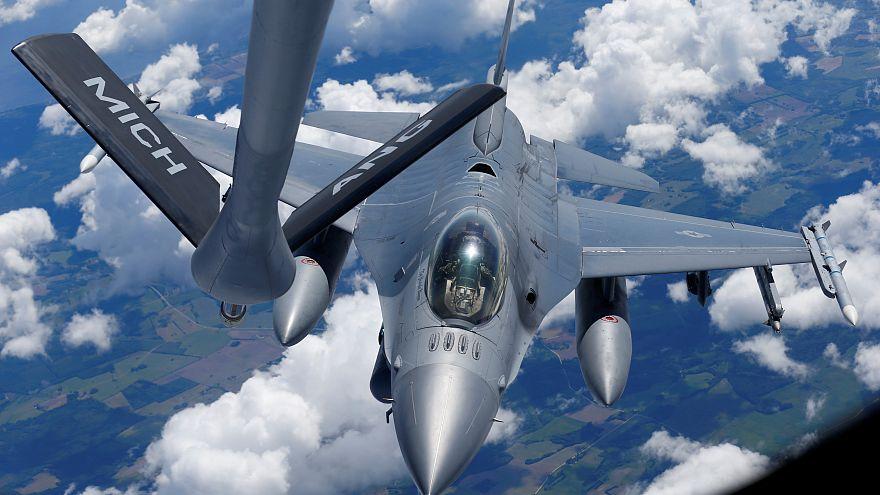 Exercício aéreo militar dos EUA na Estónia