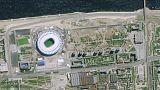 Dünya Kupası'nın oynanacağı stadyumların uydudan fotoğrafları